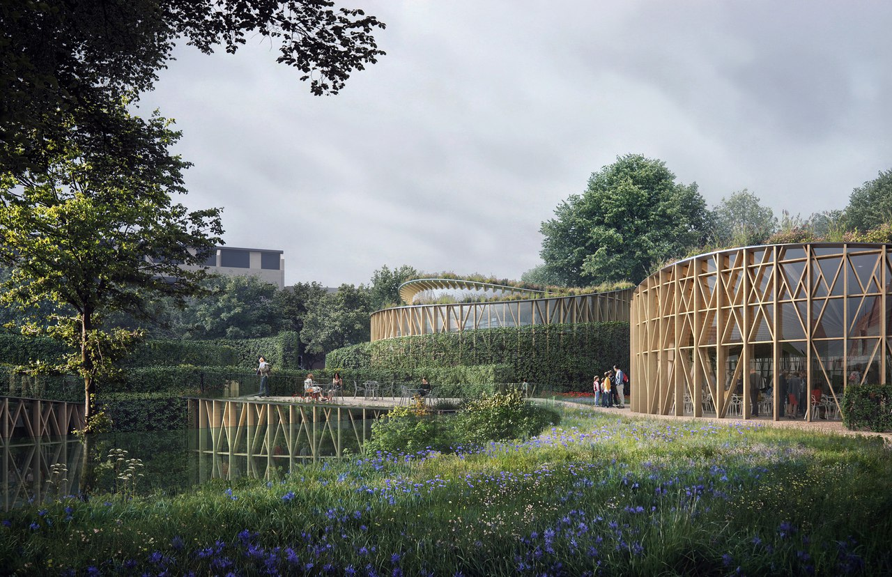 Kengo Kuma and Cornelius Vöge Release Plans for Hans Christian Andersen Museum in Odense