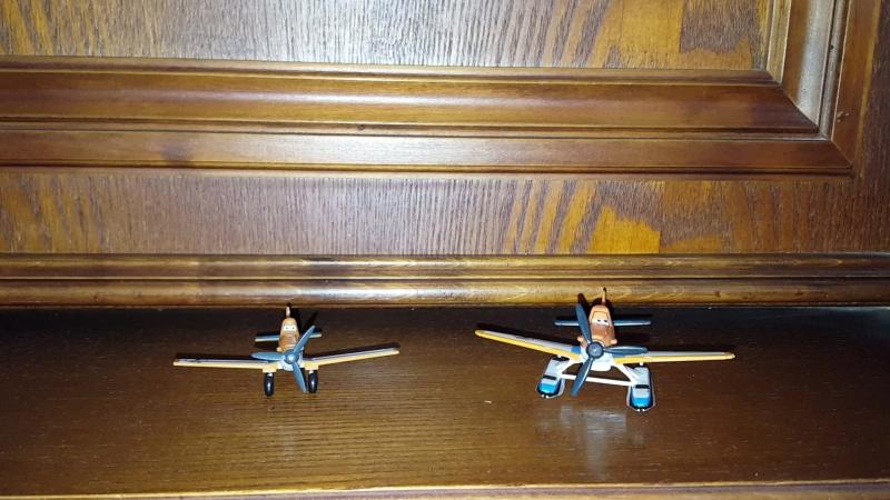 Planes Dusty And Hydroplane Dusty (Pontoon) Comparison/Самолёты сравнение
