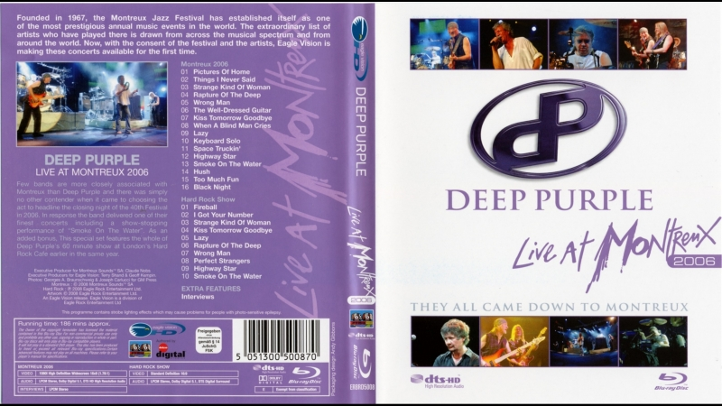 Deep Purple - They All Came Down To Montreux 2006