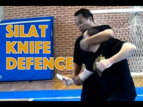 Silat Suffian Bela Diri - Knife Defence Techniques 1