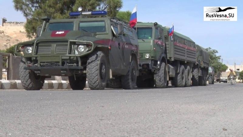 Бурная реакция сирийцев: Армия России вошла в освобождённые от боевиков города Каламуна