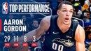 Aaron Gordon Drops 29 pts A Career High 8 asts vs the Suns