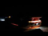 rc drift custom body light porsche rwb 993