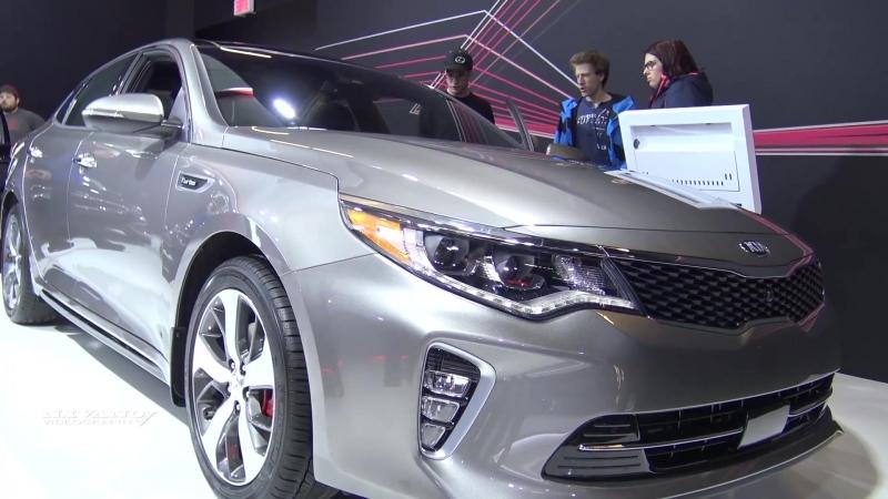 2018 KIA Optima SLX Turbo - Exterior And Interior Walkaround - 2018 Montreal Auto Show