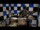1950s Gretsch Broadcaster Drum Kit Peacock Sparkle