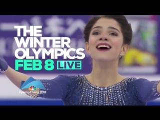 NBC TV Network: Evgenia!!! On Ice | the preview of Winter Olympics 2018 with Evgenia Medvedeva