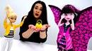 Мультик с куклами - Хлоя потеряла сумочку - Игры для девочек