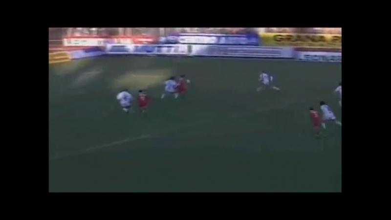 Красивый гол Паскуале Луизо в ворота Милана