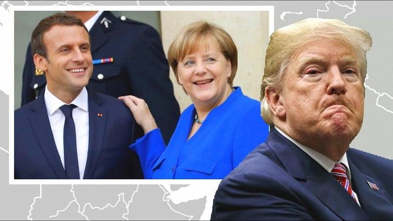 ТРАМП ПРОСЧИТАЛСЯ! ЕВРОПА уходит а сделка будет без США!
