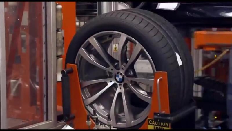 Как собирают BMW X5 и X6