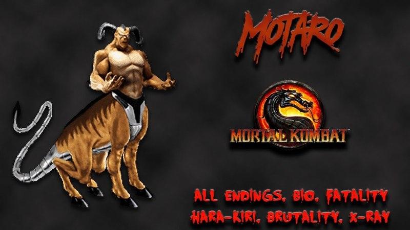 Mortal Kombat - All Fatality, Bio, Ending - Motaro