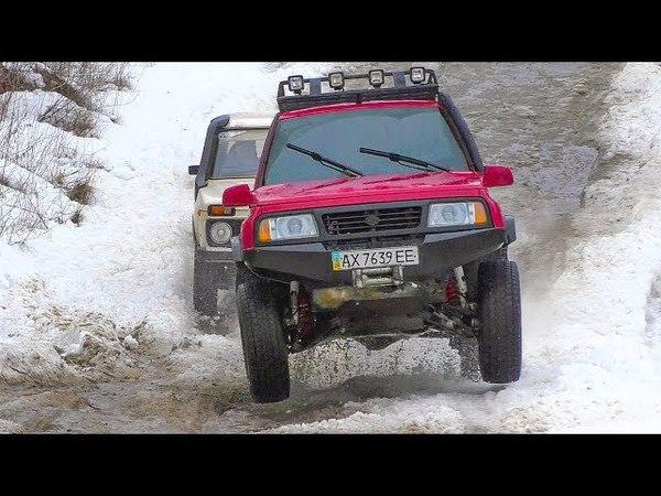 НИВА vs Opel Frontera vs Suzuki Vitara vs Chevrolet Niva - off-road.