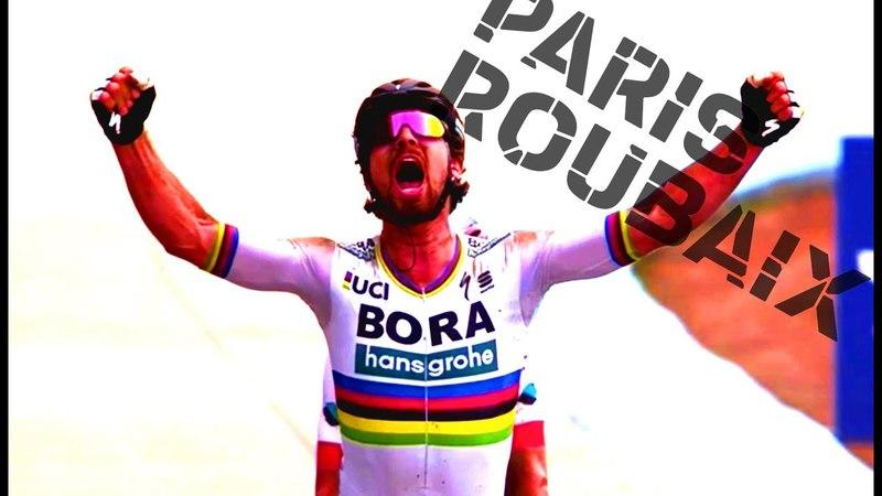 FINAL 20 KM PARIS-ROUBAIX 2018 - PETER SAGAN VS SILVAN DILLIER