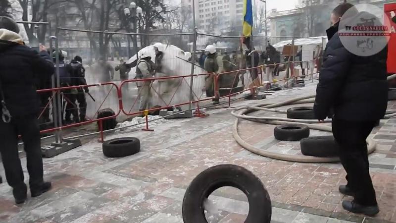 Постановка под Радой для вечернего сюжета новостей 16.01.18