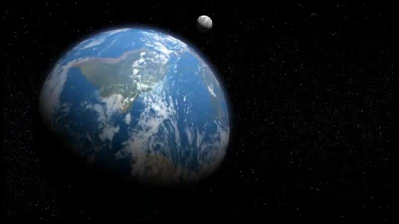 Роберт Монро - Космический корабль (НЛО) возле Луны