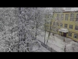 Снегопад века начало февраля 2018