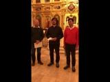 Приглашение на концерт 16.11.17 от хора храма Преображения Господня на Преображенской площади