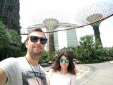 Отель Marina Bay Sands и «Сады у залива» (Gardens by the Bay)
