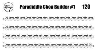 Paradiddle Chop Builder #1