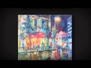 Анонс выставки картин Алексея Лушникова Biarritz 2013
