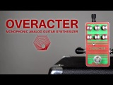 Overacter Monophonic Analog Synth FTelettronica