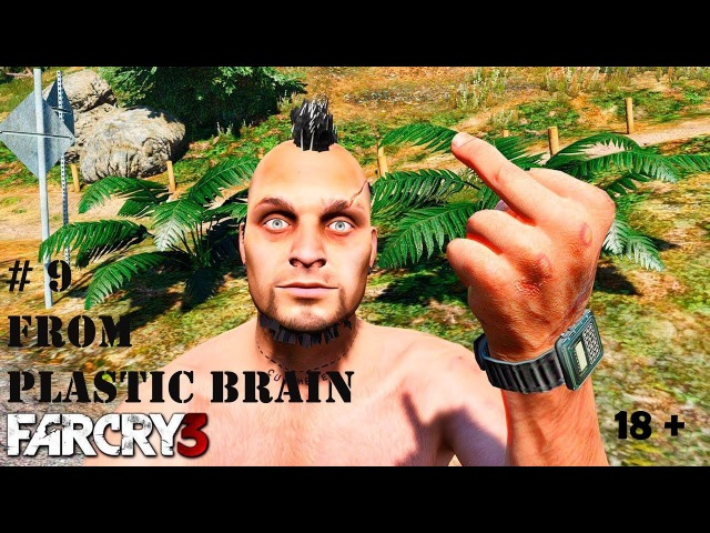Far Cry 3 - 9 серия (Спасение Оливера и Ножик-Хуежик)