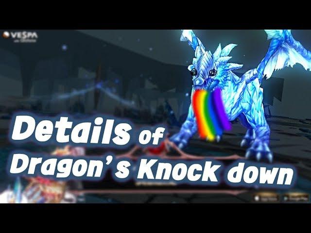 [King's raid/킹스레이드] Details of Dragon's Knock down system