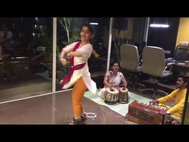 Kathak Practice - Shiv Paran