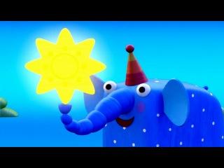 Деревяшки - Звёздочка - Серия 18 - развивающие мультики для детей