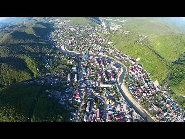 Новомихайловский с высоты