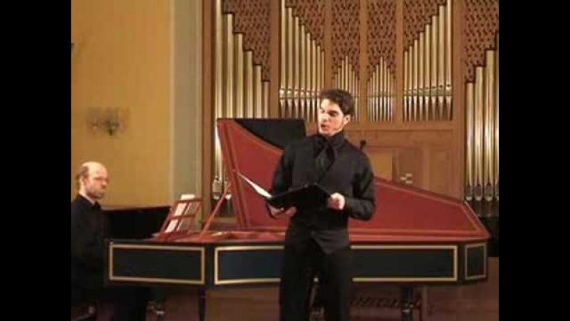 Countertenor Stefan Goergner sings Bach BWV 473