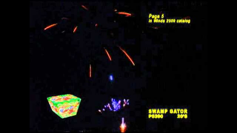 SWAMP GATOR - Winda Fireworks - P5390