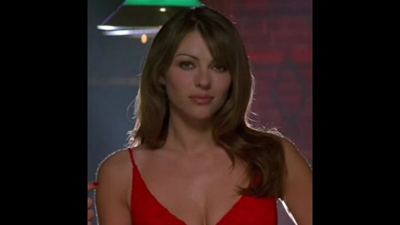 Liz Hurley in a red dress... drool worthy
