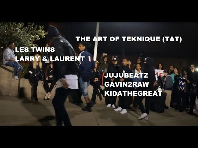 The Art of Teknique Les Twins in SF