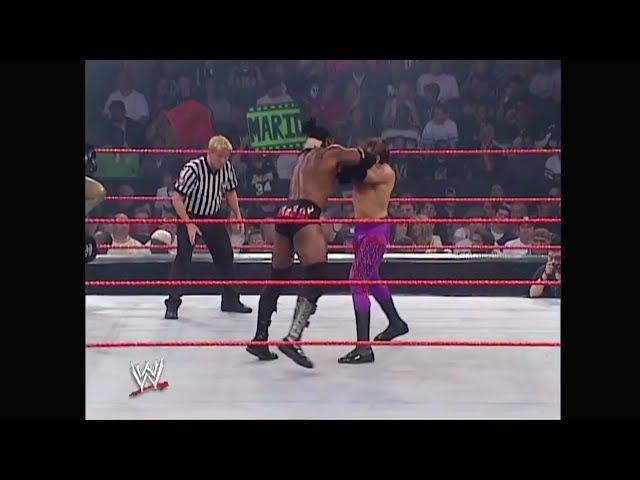 WCOFP Chris Jericho Christian vs Booker T Goldust Raw 06 02 2003