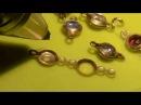 Сборка браслета с камнями аппаратом контактной сварки