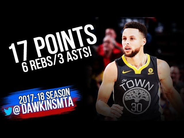 Stephen Curry Full Highlights 2018.02.14 at Blazers - 17 Pts, 6 Rebs, 3 Asts!   FreeDawkins
