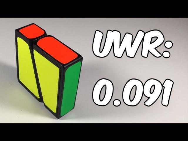 Boob Square-1 UWR (Windmill 1x1x2): 0.091 Seconds