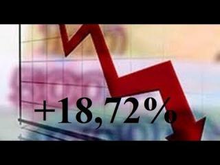 10-й выпуск. Падение продолжается! Профит +18,72% от банка