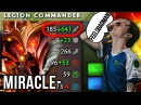 Miracle- Legion Comander WTF?! is this Damage vs feelsBadman Bristle - Dota 2