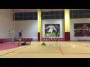 Ведение мяча с ударом в конце, дети 3-4 года Чемпионика - Казань