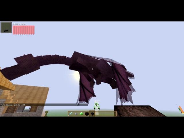 Ч 01 Индикаторы урона Damage Indicators Mod Обзор модов Minecraft
