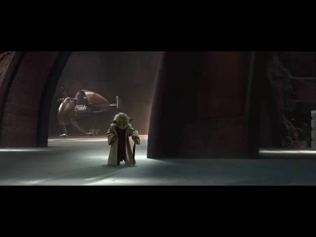 Star Wars: Yoda v.s. Count Dooku