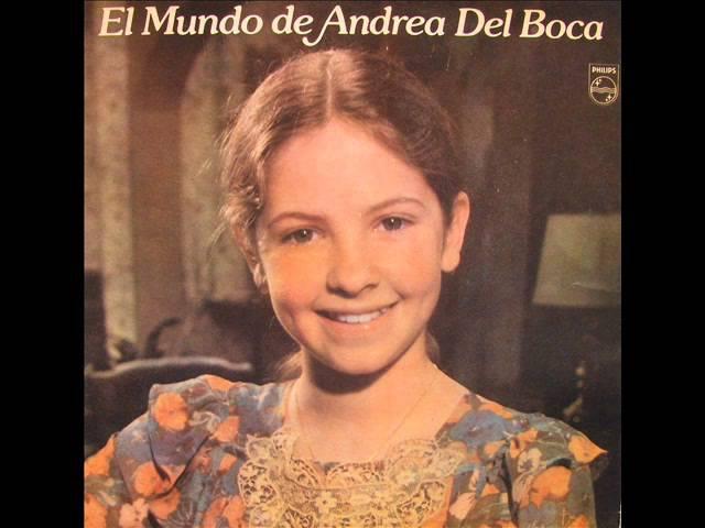 El Mundo de Andrea Del Boca (1980) Felicidad es la Mejor Palabra - con letra.