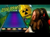 2560 BPM! ~ Playing URANOID on plastic guitar Extratone Extreme Speedcore