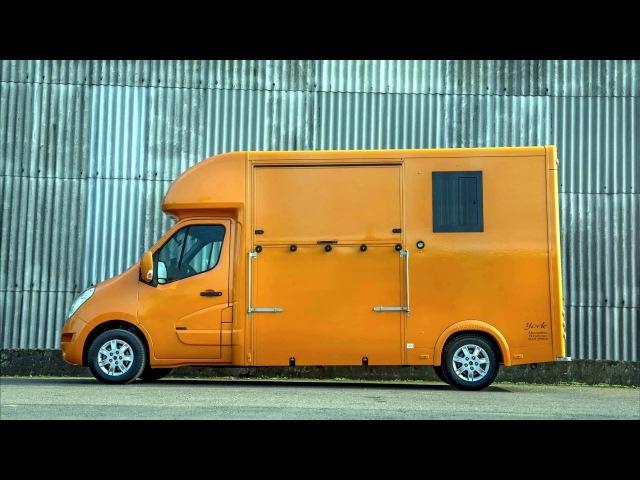 Renault Master York Alexanders Horsebox '2015 смотреть онлайн без регистрации