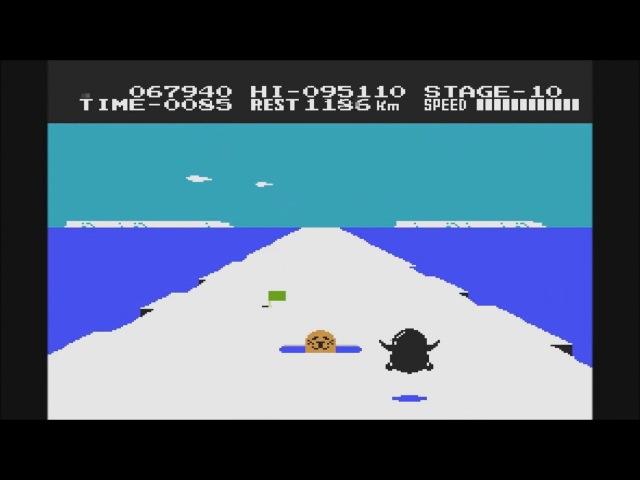 Antarctic Adventure: Прохождение NES/Денди (Пингвин в Арктике/Антарктиде)
