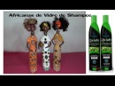 Africanas de Vidro de Shampooreciclagem