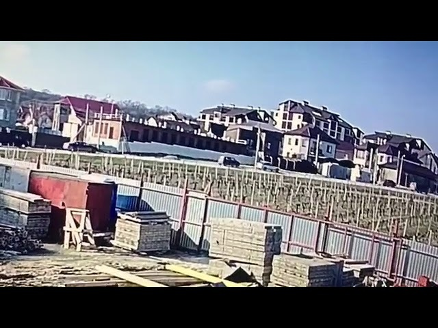 Появилось видео момента страшной аварии в Новороссийске