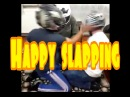 Funny Happy slapping(helmet edition)